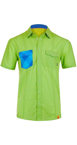 Ortovox M's Rock 'n' Wool Cool Shirt Short Sleeve Happy Green (043)